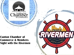 Canton Chamber of Commerce & Members Night with the Rivermen