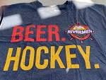 Soft Washed T-Shirt-BEER Hockey
