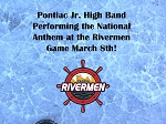 Pontiac Jr High Band  March 8th