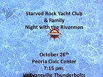 Starved Rock Yacht Club & Family Night with the Rivermen