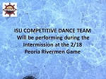 ISU Competitive Dance Team 2/18