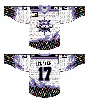 Peoria Rivermen Hockey Fights Cancer Night: March 24 (Season Ticket Holder Link)