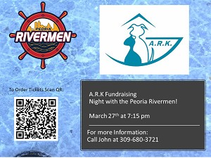 The Ark Fundraising Night Out with the Rivermen 3/27