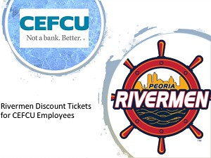 Rivermen Discount Tickets for CEFCU Employees
