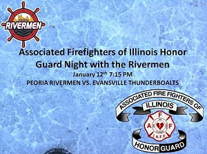 Associated Fire Fighters of Illinois Honor Guard Night-1/12/2018