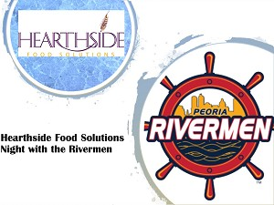 Hearthside Food Solutions Employee Night with the Rivermen