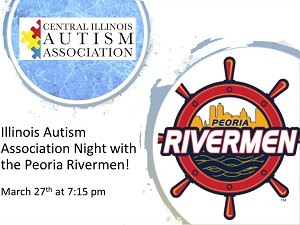 Central Illinois Autism Association's Night with the Rivermen