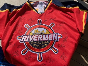 2019-20 Peoria Rivermen Team Signed Jerseys