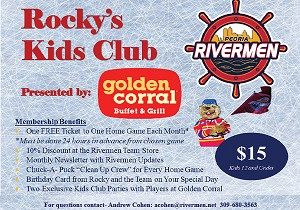 Golden Corral Presents Rocky's Kids Club