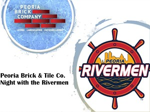 Peoria Brick & Tile Co. Employee Night with the Rivermen