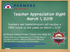 Teacher Appreciation Night-3-1-2019