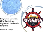 Holy Cross Lutheran Child Care Center Night Out with the Rivermen