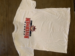 White Rivermen T-shirt with Red Lettering